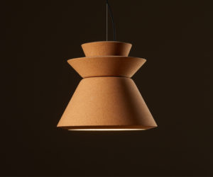 Kork Leuchte, Cork Light, Green Product Award, Lighting, Studio Faubel